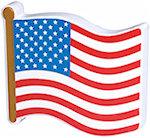 US Flag Stress Balls
